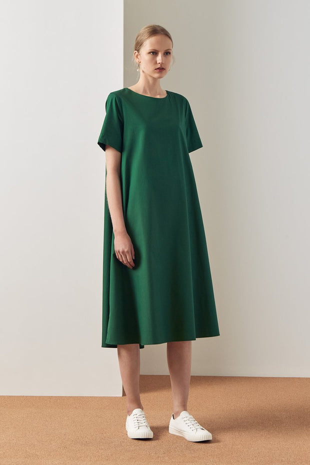 Kowtow triangle dress organic cotton new zealand designer clothing  nz designer clothing