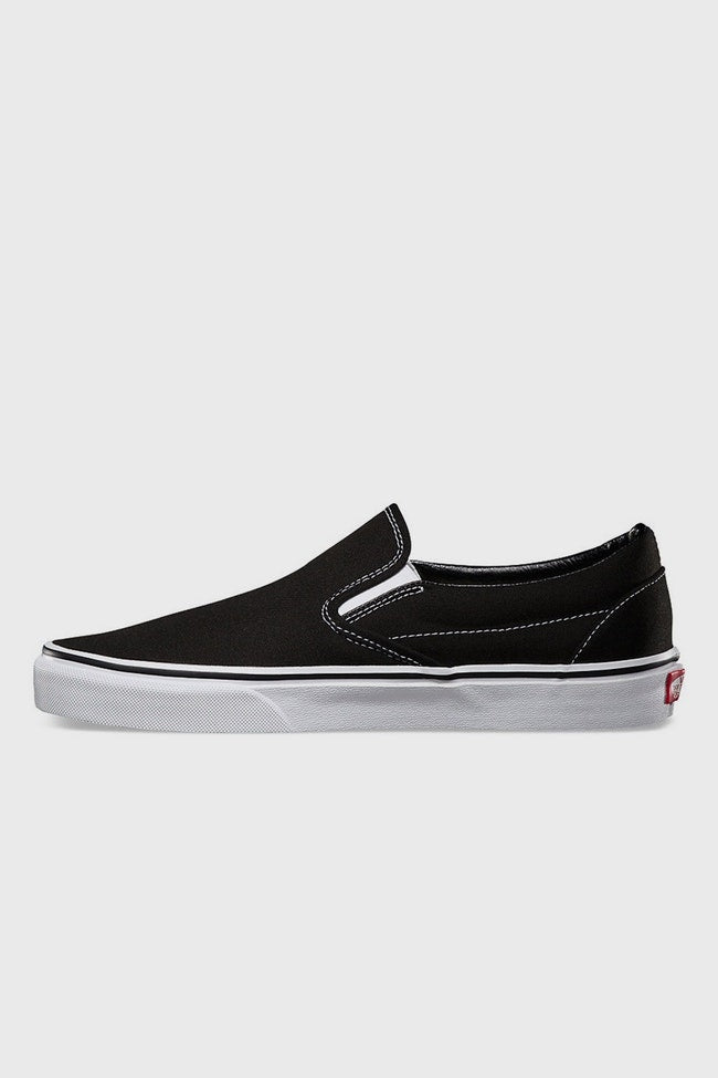 Classic Slip On Black/White