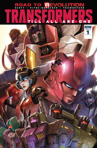 Transformers Till All Are One Vol 1 TP (inglés)