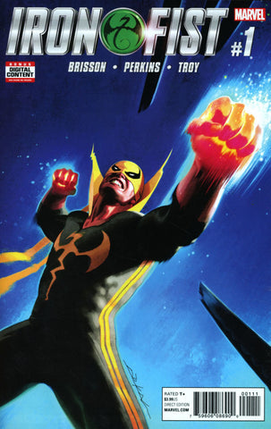 Iron Fist Vol 5 #1