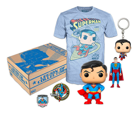 DC Legion of Collectors Box, Superman!