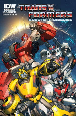 Transformers: Robots in Disguise, Vol 1 TP (inglés)