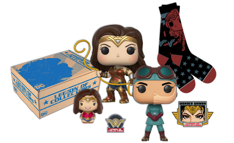 DC LEGION OF COLLECTORS: WONDER WOMAN BOX de FUNKO!