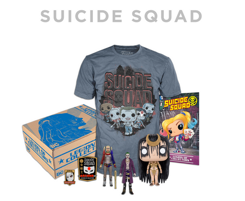 DC Comics Legion of Collectors Suicide Squad