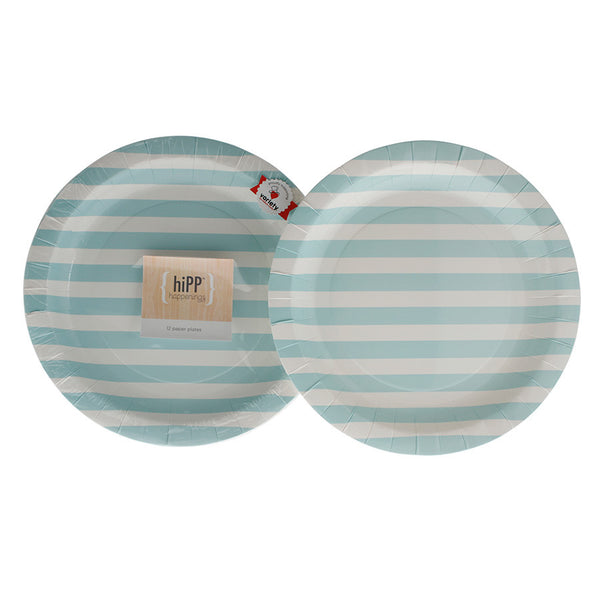 HiPP 23cm Duck Egg Blue Stripe Paper Plates - Pack of 12  sc 1 st  The Perfect Party Boutique & Pastel u2013 The Perfect Party Boutique