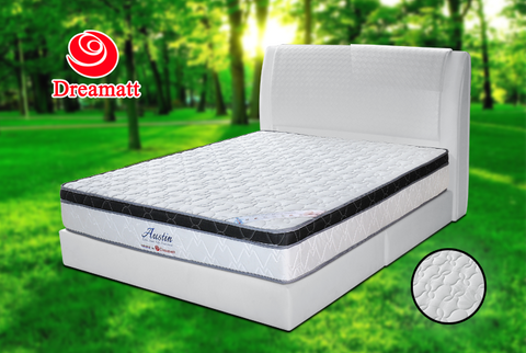 Dr.Austin (King) (Queen) 10 Inch Chiropractic Mattress Include 4 Inch 360º Degree Air Ventilation Plus-Top - Cartbibi