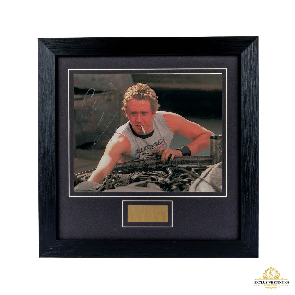 Chad Linberg Fast and The Furious Signed Framed Photo 2