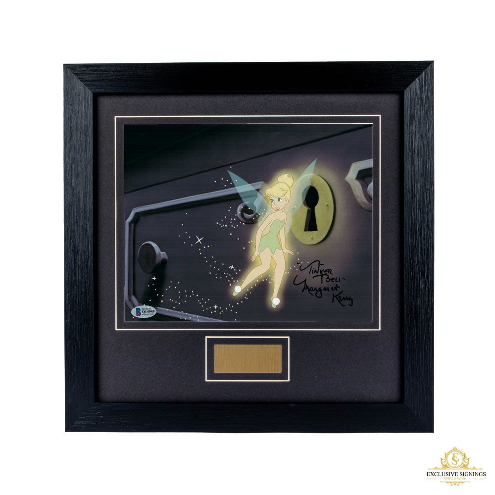Margaret Kerry Tinkerbell Signed Framed BAS Photo 15