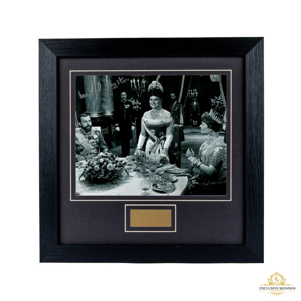 Michael Jayston Nicholas and Alexandra Signed Framed Photo