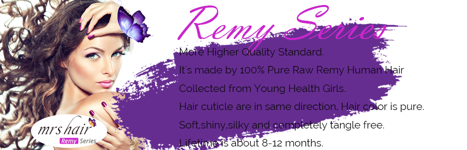 MRSHAIR Remy Series Hair Extensions