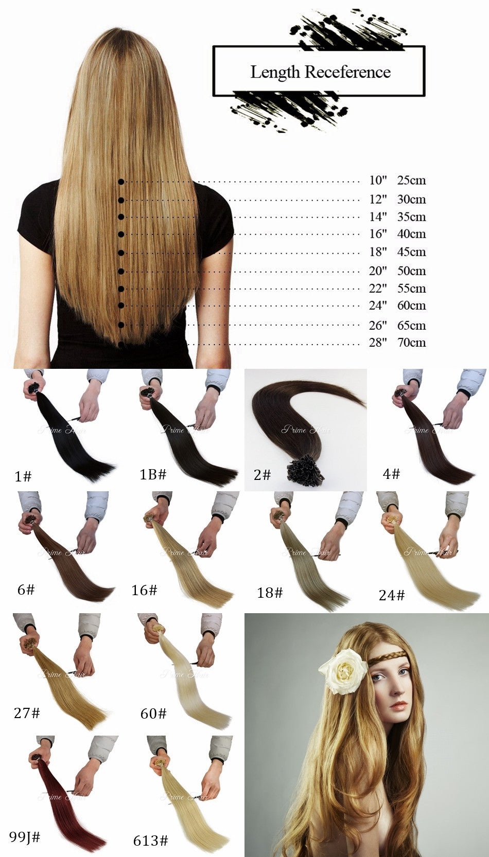 how to choose your u tip hair extensions