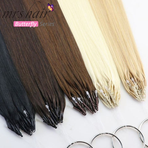 8D Hair Extensions Double Drawn Human Hair