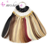 MRSHAIR MRSHAIR Make Up Series Color Swatch For Human Hair Extension Color Chart