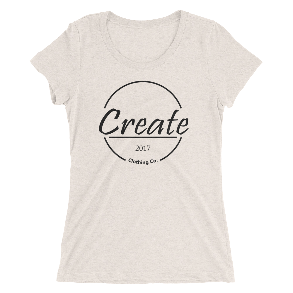 Women's Create Logo Tee