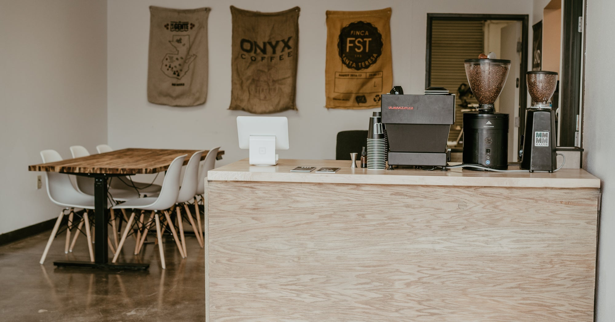 Old World Coffee Lab Prototype Cafe