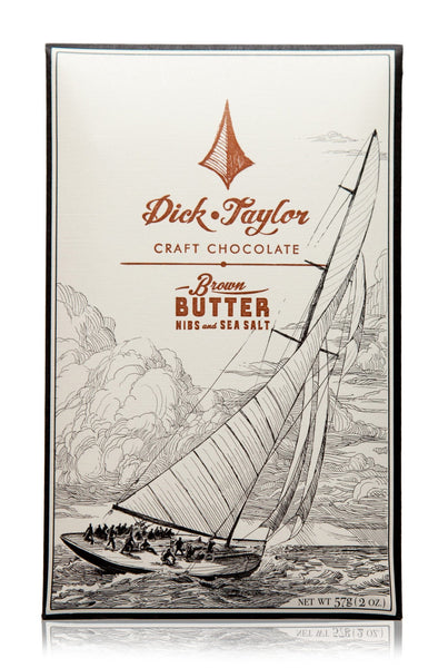 Dick Taylor 73% Dark Brown Butter