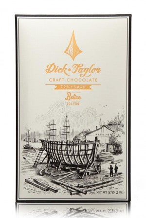Dick Taylor 72% Belize, Toldeo Chocolate