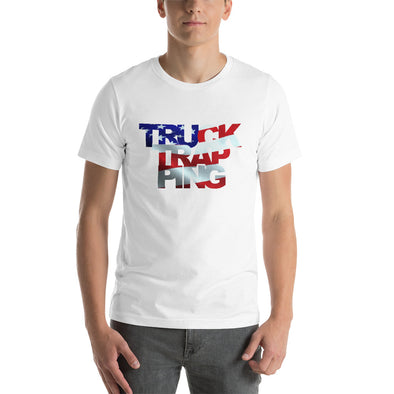 TruckTrapping American Flag Short-Sleeve T-Shirt