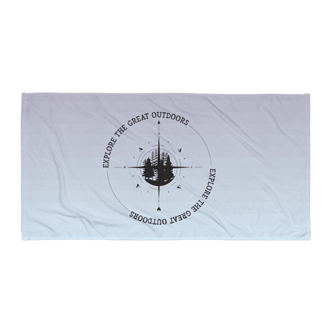 Explore The Great Outdoors Towel