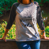 Wilderness Soulmate 3/4 Sleeve Raglan Shirt