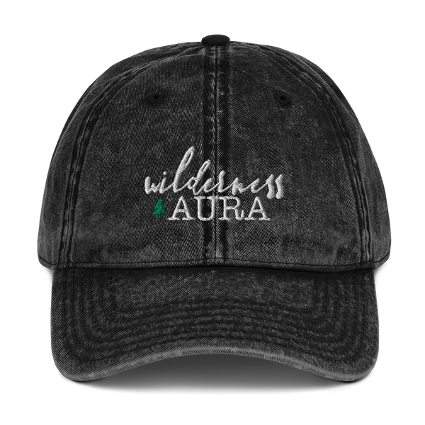 Wilderness Aura Vintage Cotton Twill Hat