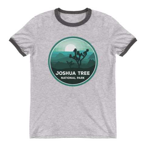 Joshua Tree National Park Unisex Ringer T-Shirt