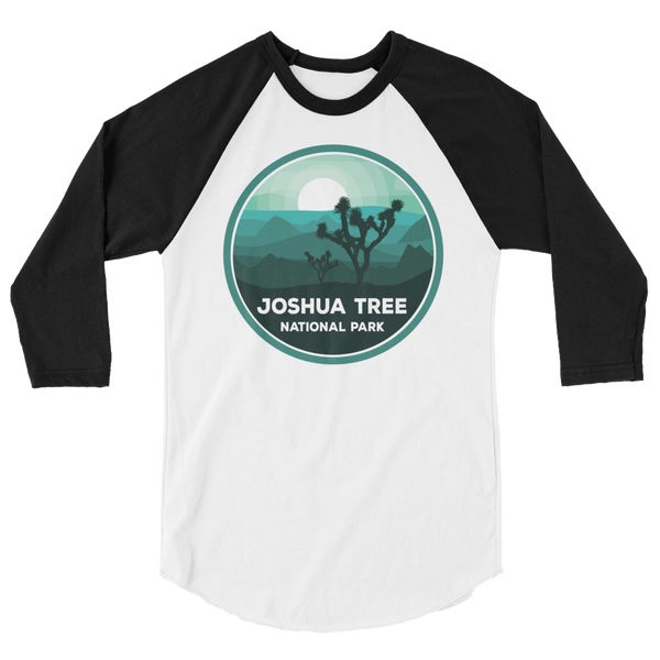 Joshua Tree National Park Unisex 3/4 Sleeve Raglan Shirt