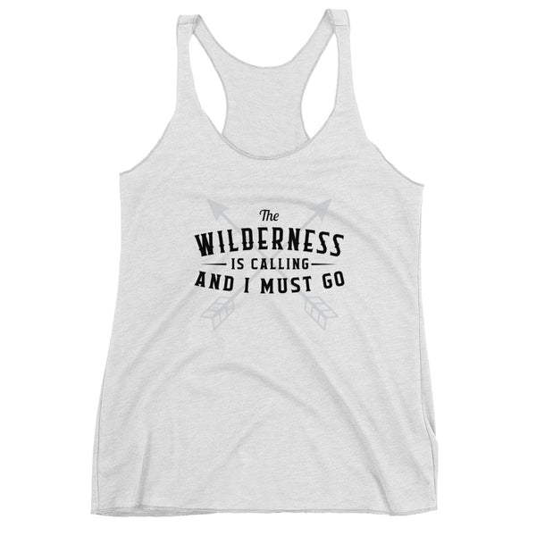Wilderness Is Calling Women's Racerback Tank
