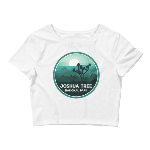 Joshua Tree National Park Women's Crop Tee
