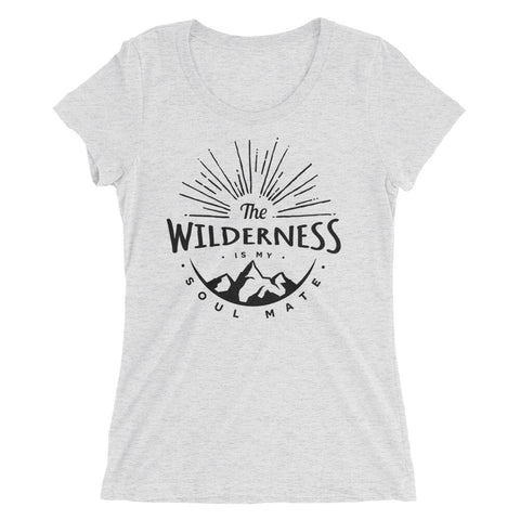 Wilderness Soulmate Ladies' Short Sleeve T-shirt