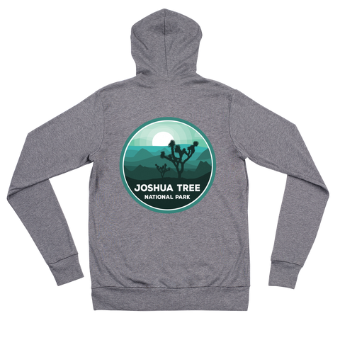 Joshua Tree National Park Unisex Zip Up Hoodie