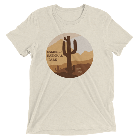 Saguaro National Park Short Sleeve T-shirt