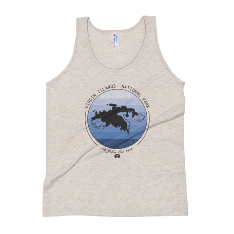 Virgin Islands National Park Unisex Tank Top
