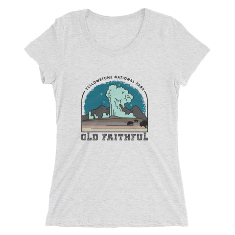 Yellowstone National Park Womens T-shirt
