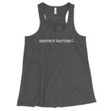 Respect Nature Women's Flowy Racerback Tank
