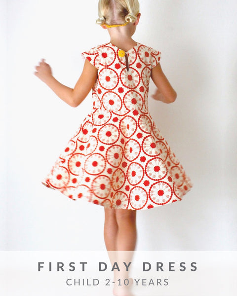 First Day Dress Made Everyday