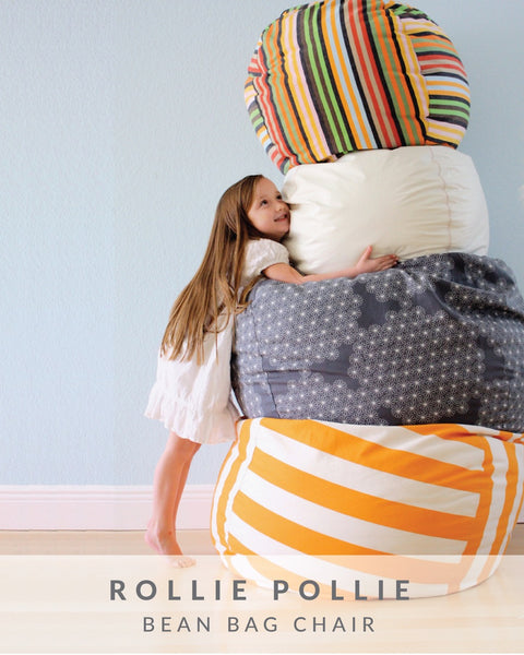 Rollie Pollie Bean Bag Chair Made Everyday