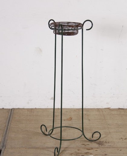 Vintage French plant stand #2533 September container