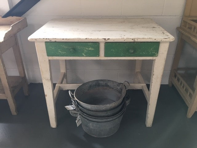 Vintage Dutch Kitchen Farmhouse Tables #B138