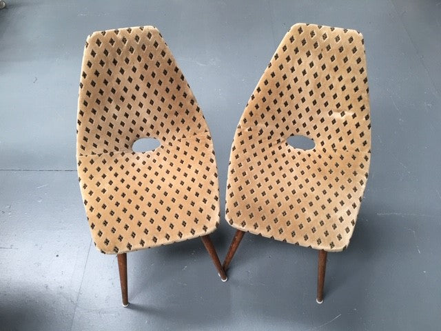 Vintage Czech Cocktail Chair  #B141 Byron