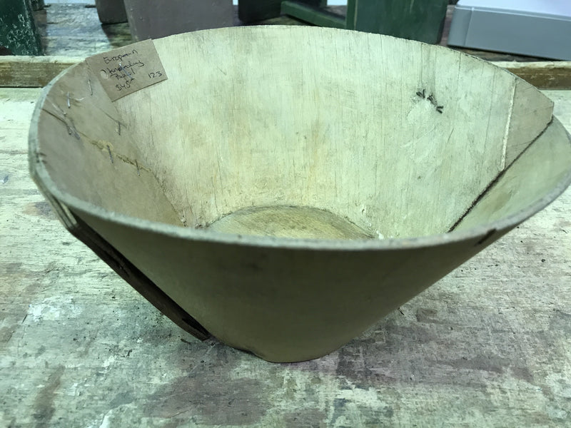 Vintage industrial French kneading bowl   #1457