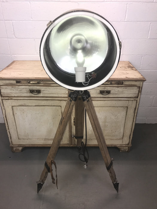 Vintage industrial UKRAINE warehouse  spot lights #1533