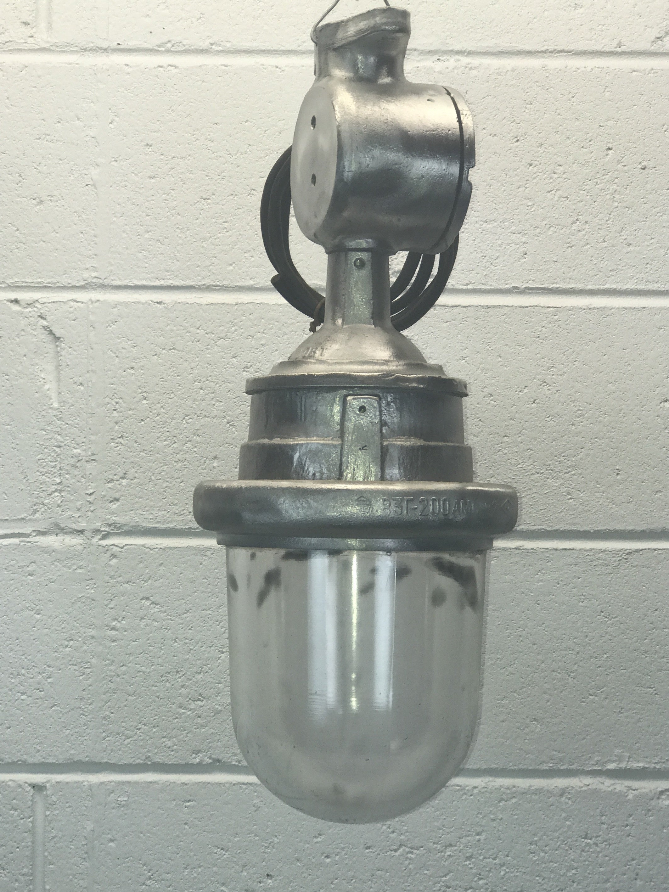 Vintage industrial UKRAINE warehouse  lights #1539