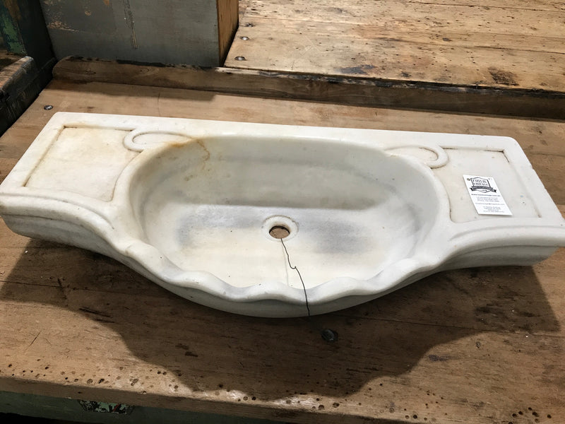 Vintage industrial Turkish Marble sink #2008/1