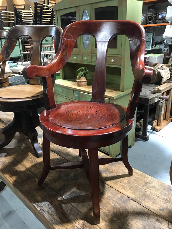 Czech 1920s Thonet barber chair  # 2433a