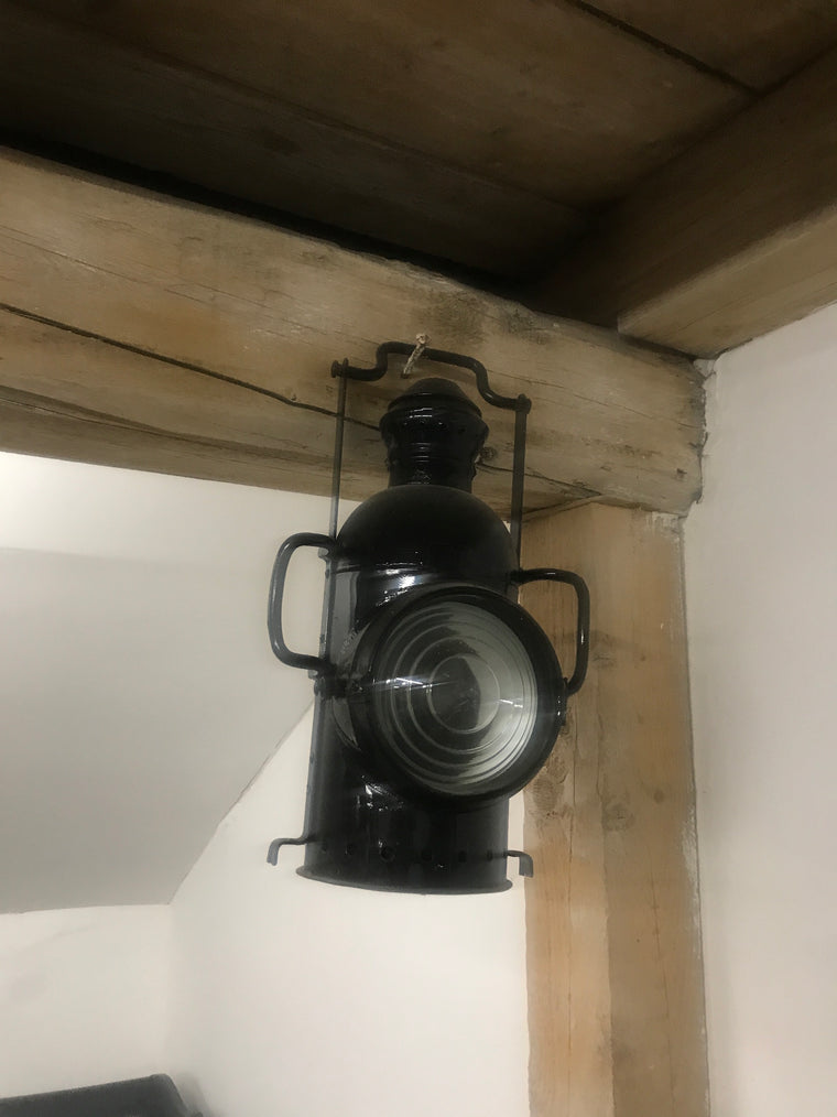 Vintage industrial ship light #2480.coming at the end of may container