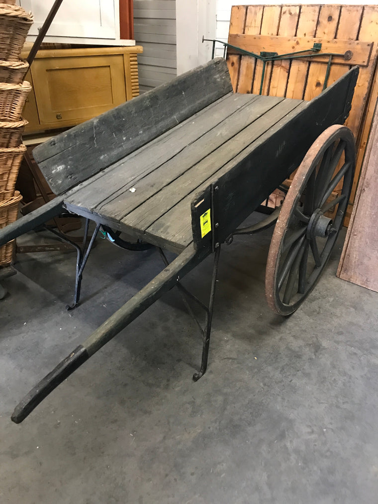 Vintage market trolley cart #2549