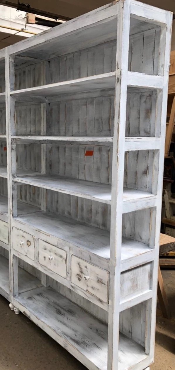 Vintage  European  pharmacy wall unit  #2572