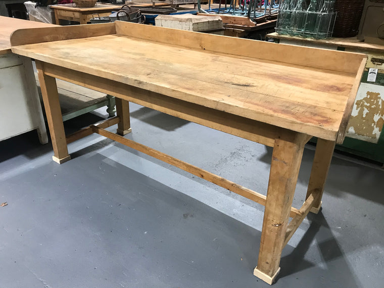 European kitchen island farmhouse bakers table #2746