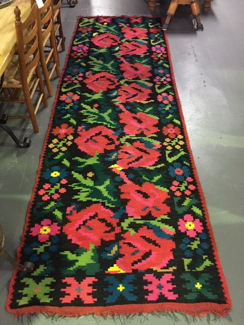 Vintage European Gypsy Carpet  #B3275 Byron Warehouse